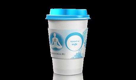 Дизайн фирменной чашки для кофе